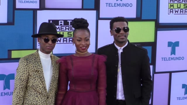 ChocQuibTown at the 2016 Latin American Music Awards at Dolby Theatre in Hollywood at 2016 Latin American Music Awards on October 06 2016 in...