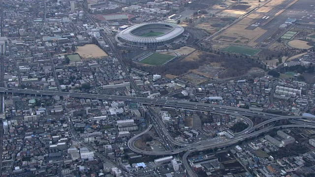 AERIAL, Chofu IC And Tokyo Stadium, Japan