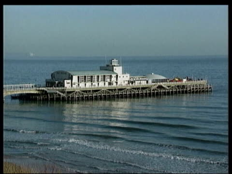 chohan family murders: kenneth regan, wiliam horncy and peter rees convicted; lib bournemouth: pier seafront - pier stock videos & royalty-free footage