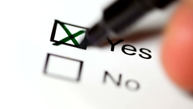 choice, yes or no - voting stock videos & royalty-free footage
