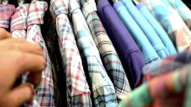 choose a clothing. - shirt stock videos & royalty-free footage
