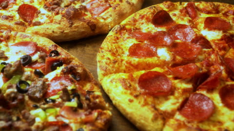 choose your slice - fast food stock videos & royalty-free footage
