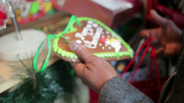 choosing christmas gifts - christmas shopping stock videos and b-roll footage