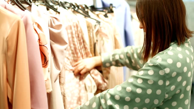 choosing the right shirt - dress stock videos & royalty-free footage