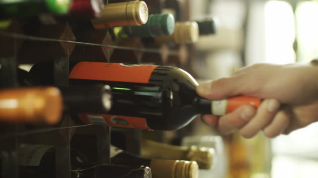choosing wine - rack stock videos & royalty-free footage