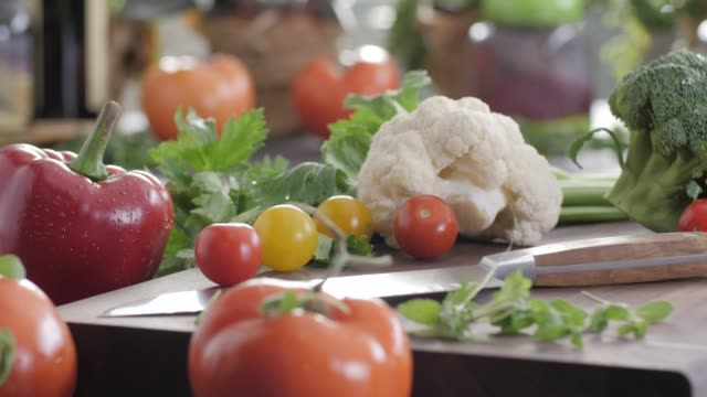 raw food. chop vegetables.healthy food. colorful cuisine - mediterranean culture stock videos & royalty-free footage