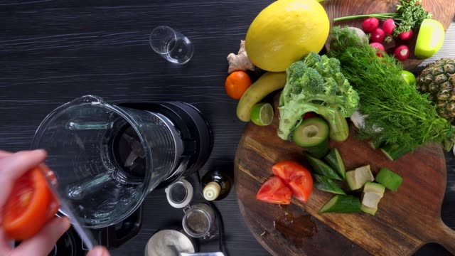 raw food. chop vegetables.healthy food. colorful cuisine - mediterranean food stock videos & royalty-free footage