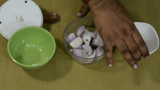chopping onions - chennai stock videos & royalty-free footage
