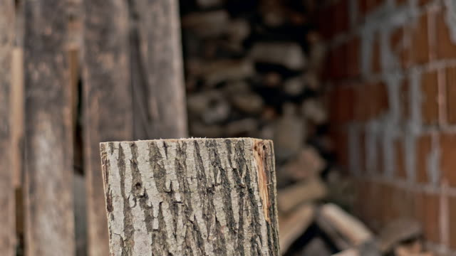 SLO MO Hacken der wood