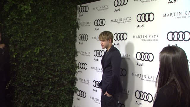Chord Overstreet at the Audi And Martin Katz Celebrate The 2012 Golden Globe Awards in West Hollywood CA
