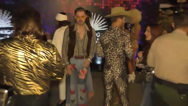 chord overstreet at the tequila casamigos halloween bash at tower records in west hollywood at celebrity sightings in los angeles on october 27, 2017... - tower records stock videos & royalty-free footage