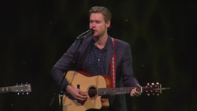 performance chord overstreet at the ucla semel institutes open mind gala at the beverly hilton hotel on march 22 2017 in beverly hills california - chord stock videos and b-roll footage