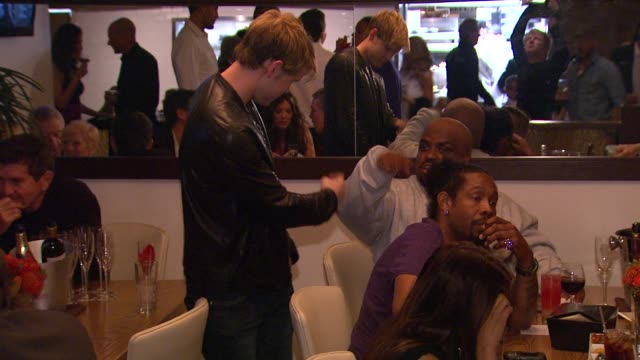 Chord Overstreet Cee Lo Green at Planet Dailies Mixology 101 Grand Opening on 4/5/12 in Los Angeles CA
