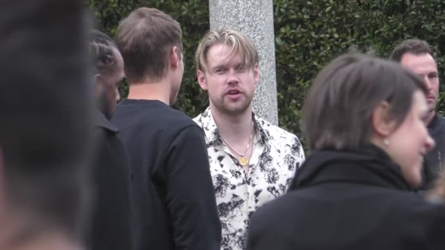 chord overstreet outside the chasing happiness premiere at regency bruin theatre in westwood in celebrity sightings in los angeles - bruin theater stock videos & royalty-free footage