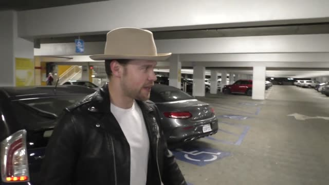 vidéos et rushes de chord overstreet talks about his upcoming music projects outside arclight cinemas in hollywood in celebrity sightings in los angeles, - arclight cinemas hollywood