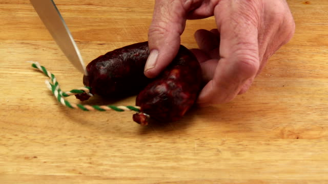 chorizo sausage - chorizo stock videos & royalty-free footage