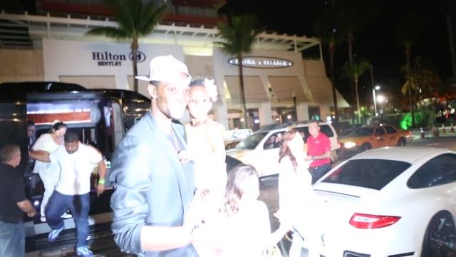 Chris Bosh at Prime One Twelve restaurant Chris Bosh at Prime One Twelve restaurant at Prime One Twelve on June 03 2013 in Miami Florida