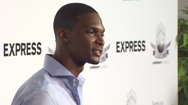 Chris Bosh at the Matt Leinart's Fourth Annual 'Bowling With The Stars' Event at Hollywood CA