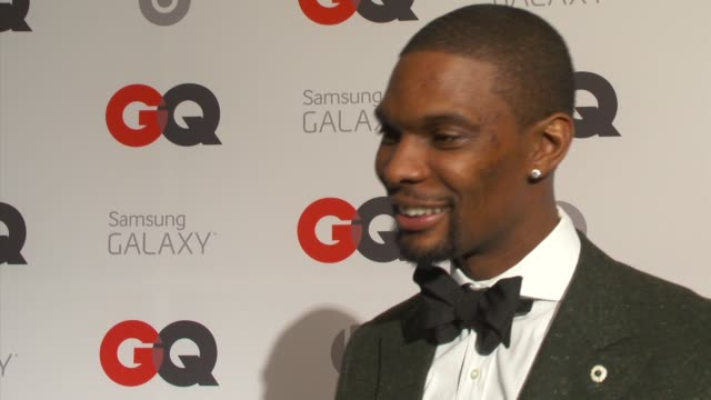 INTERVIEW Chris Bosh on his sense of style and keeping up with LeBron and Wade at GQ And LeBron James Celebrate All Star Style And The March Issue...