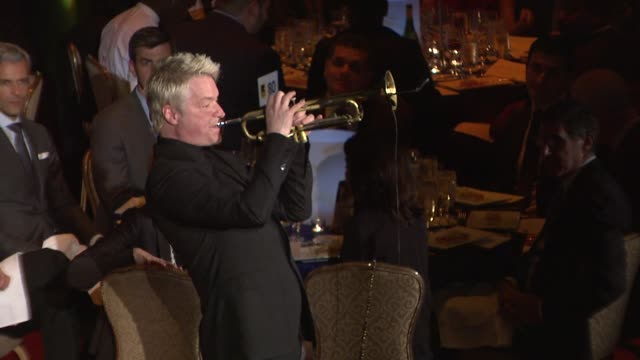 performance chris botti performs at 2015 international rescue committee freedom award benefit at waldorf astoria hotel on november 04 2015 in new... - waldorf astoria new york stock videos & royalty-free footage