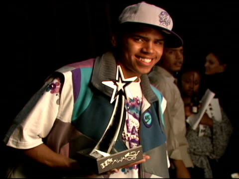 chris brown at the 2006 bet awards portrait studio at the shrine auditorium in los angeles, california on june 27, 2006. - shrine auditorium stock videos & royalty-free footage