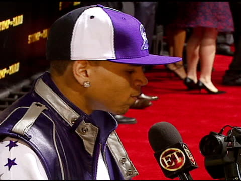 chris brown at the stomp the yard premiere at the cinerama dome at arclight cinemas in hollywood, california on january 8, 2007. - arclight cinemas hollywood stock videos & royalty-free footage