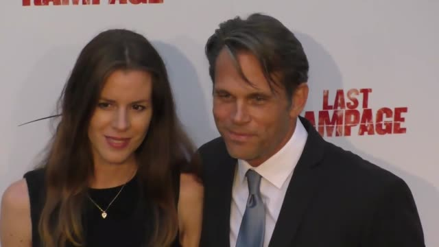 chris browning and chrissy browning at the premiere of 'last rampage the escape of gary tison' from epic pictures releasing at arclight cinemas on... - arclight cinemas hollywood 個影片檔及 b 捲影像