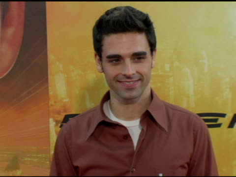 chris carrabba at the 'spider-man 2' los angeles premiere arrivals at the mann village theatre in westwood, california on june 22, 2004. - house spider stock videos & royalty-free footage