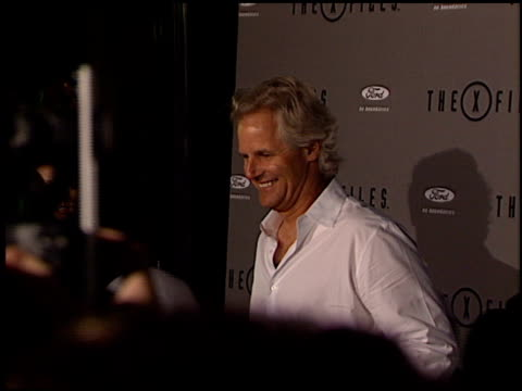 Chris Carter at the XFiles Wrap Party at House of Blues in Los Angeles California on April 27 2002