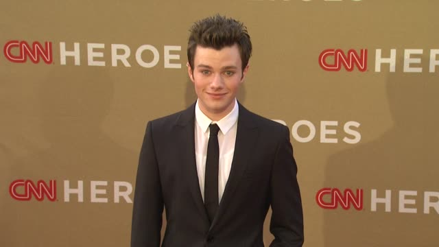 an allstar tribute on 12/11/11 in los angeles ca - chris colfer stock videos and b-roll footage