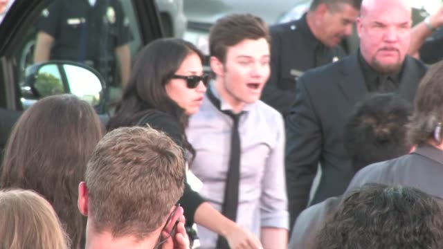 Chris Colfer at Glee The 3D Concert Movie Premiere in Westwood