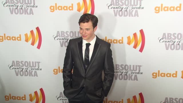 chris colfer at the 2010 glaad media awards at century city ca - chris colfer stock videos and b-roll footage