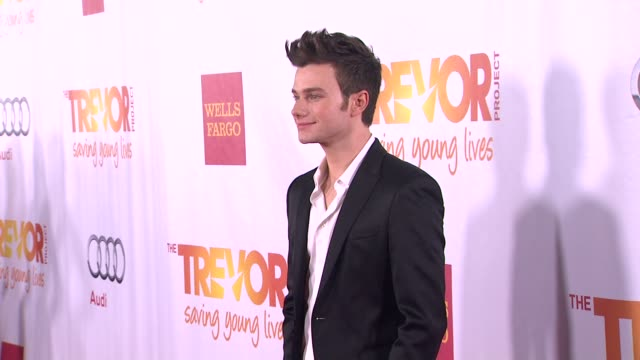 Chris Colfer at TrevorLIVE Los Angeles Benefit Celebrating The Trevor Project's 15th Anniversary in Los Angeles CA