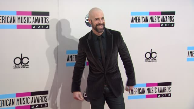 chris daughtry at 2013 american music awards arrivals in los angeles ca - american music awards stock videos and b-roll footage