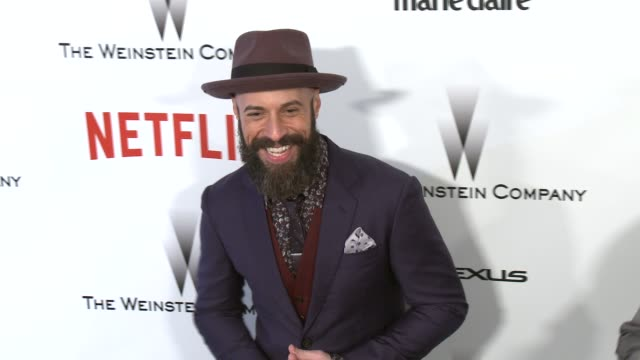 Chris Daughtry at the 2015 Weinstein Company And Netflix Golden Globe After Party at Robinsons May Lot on January 11 2015 in Beverly Hills California