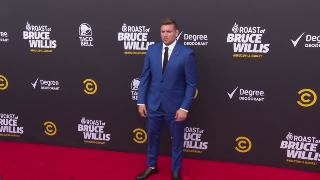 Chris Distefano At The Comedy Central Roast Of Bruce Willis At Hollywood Palladium On July 14