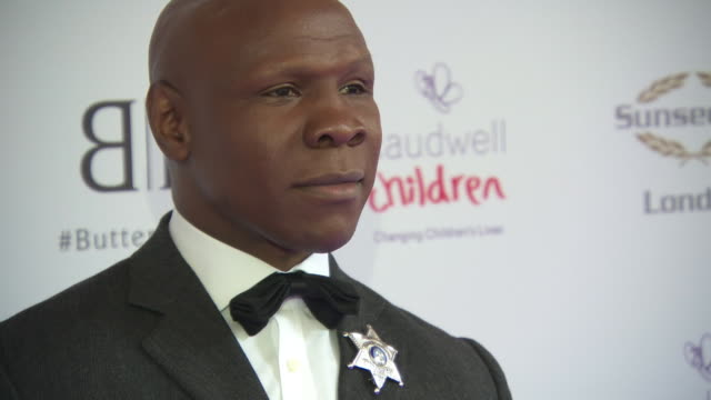chris eubank at caudwell children butterfly ball on june 13, 2019 in london, england. - chris eubank sr stock videos & royalty-free footage