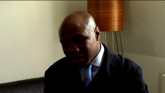 chris eubank interview; england: london: int chris eubank sr talking about his son training with floyd mayweather sr chris eubank jr talking about... - chris eubank sr stock videos & royalty-free footage