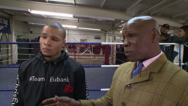 chris eubank junior to face renold quinlan for the ibo super-middlewirght title; chris eubank junior to face renold quinlan for the ibo... - chris eubank sr stock videos & royalty-free footage