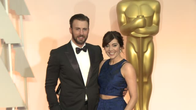 Chris Evans at 87th Annual Academy Awards Arrivals at Dolby Theatre on February 22 2015 in Hollywood California