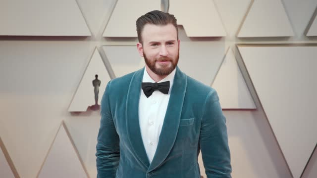 vídeos de stock e filmes b-roll de chris evans at the 91st academy awards arrivals at dolby theatre on february 24 2019 in hollywood california - cerimónia dos óscares