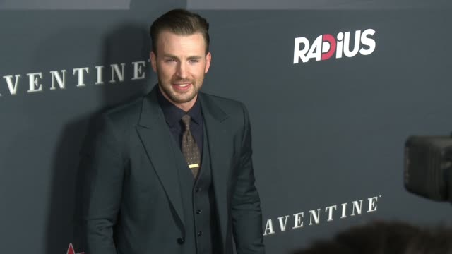chris evans at the before we go los angeles premiere at arclight cinemas on august 12 2015 in hollywood california - arclight cinemas hollywood stock videos & royalty-free footage