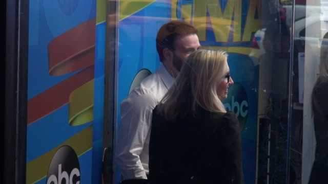 Chris Evans entering the set of 'Good Morning America' on March 31 2014 in New York City