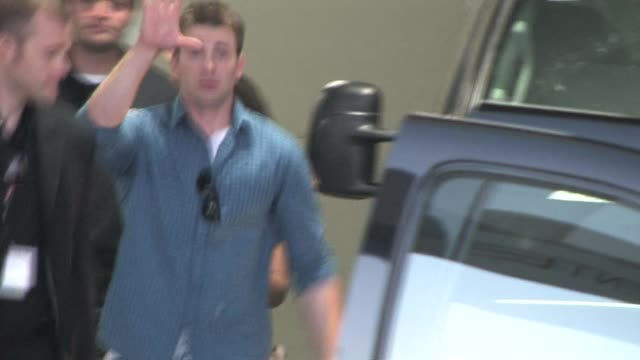 chris evans leaves comic con at the celebrity sightings in san diego at los angeles ca - exhibition stock videos & royalty-free footage