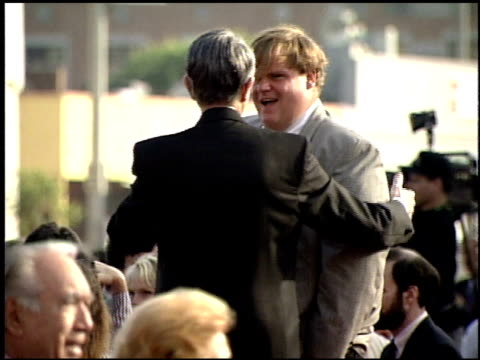 Chris Farley at the 'Last Action Hero' Premiere on June 13 1993