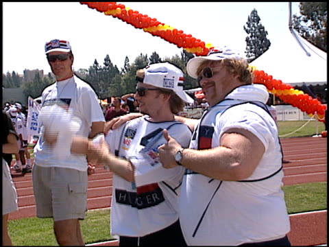 Chris Farley at the Multiple Sports for MS at Drake Stadium in Los Angeles California on June 1 1996
