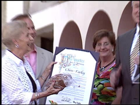 Chris Farley Walk of Fame Star at the Dediction of Chris Farley's Walk of Fame Star at the Hollywood Walk of Fame in Hollywood California on August...