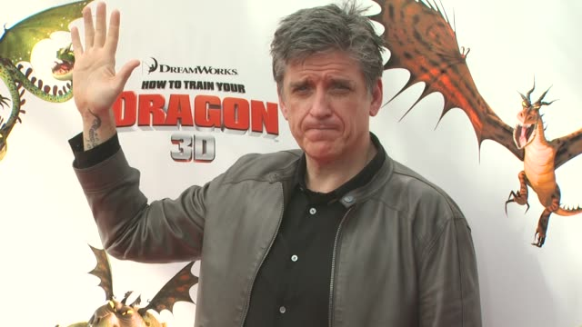 chris ferguson at the 'how to train your dragon' premiere at universal city ca - how to train your dragon stock videos & royalty-free footage