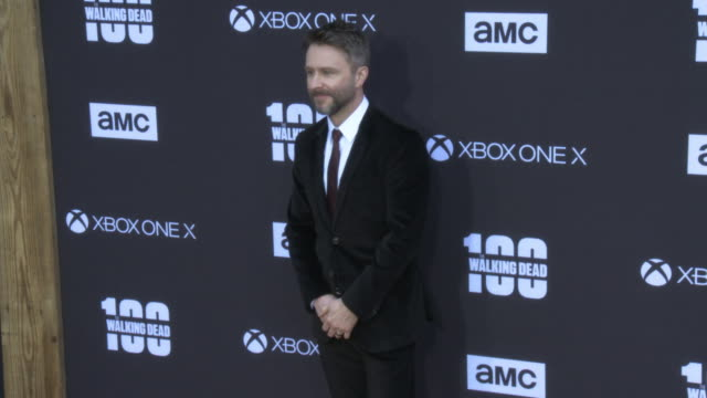 Chris Hardwick at the AMC's The Walking Dead 100th Episode Season 8 Special Premiere Screening at The Greek Theatre on October 22 2017 in Los Angeles...