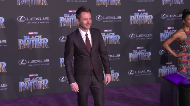 Chris Hardwick at the Marvel Studios' 'Black Panther' World Premiere at Dolby Theatre on January 29 2018 in Hollywood California